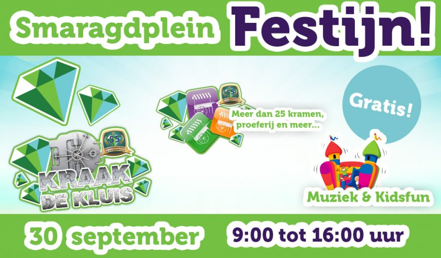 Smaragdplein Festijn!