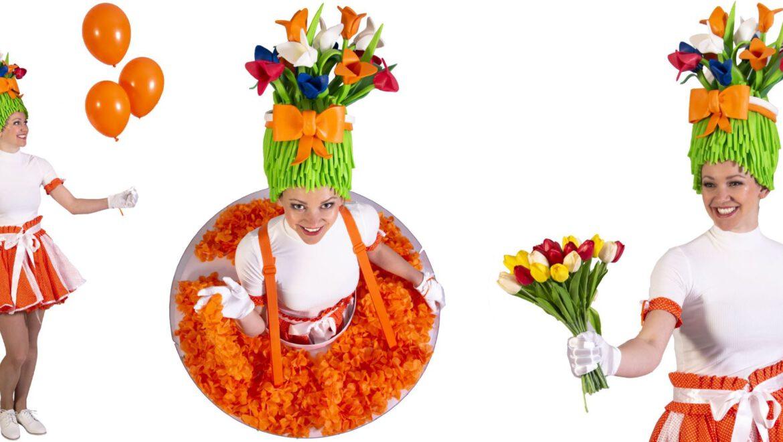 12 + 26 juni Oranje uitdeel dames op het Smaragdplein!